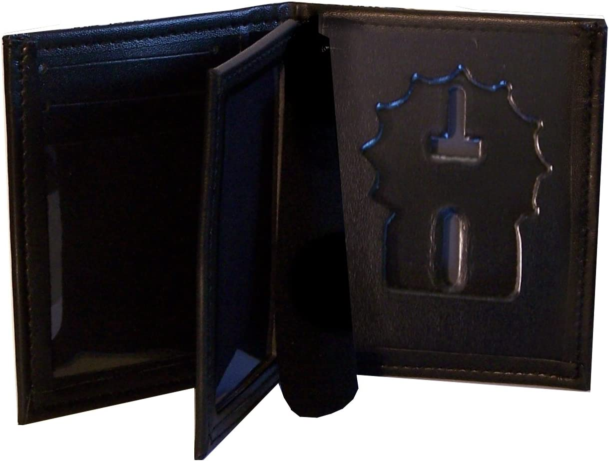 NYPD Detective Hidden Badge Wallet for (Cutout PF225)