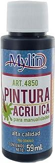 Mylin Pintura Acrílica Para Manualidades 59ml No Tóxica Co