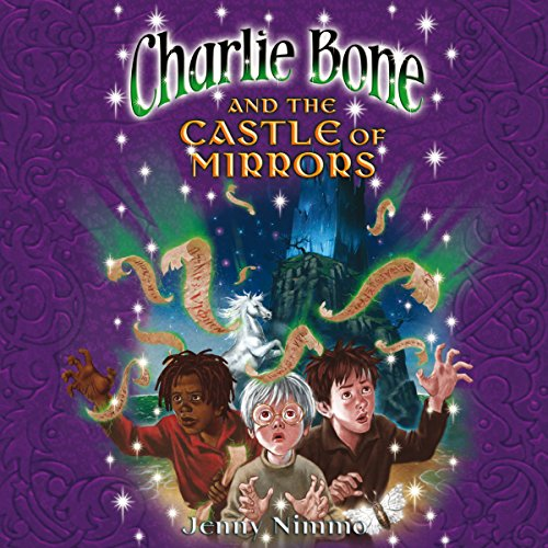 Charlie Bone and the Castle of Mirrors audiobook cover art