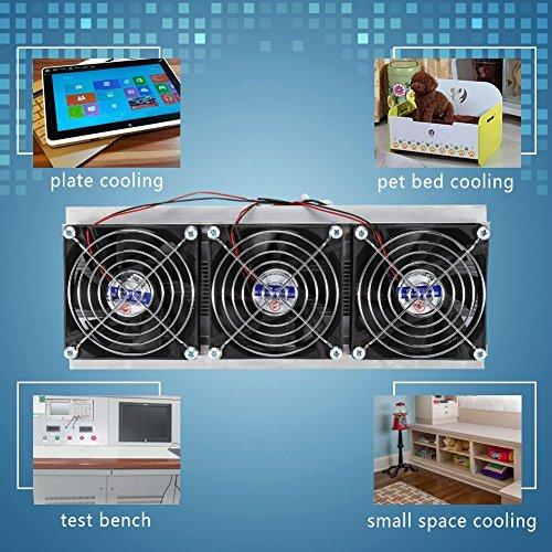 Thermo-elektrische koelkasten, halfgeleiderkoelingset Thermo-elektrische Peltier-luchtkoeler