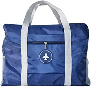 RichDeer Travel Bag Luggage Bag Waterproof Holdall Light Duffel Bags for Sports Vacations Camping Training (Navy Blue)