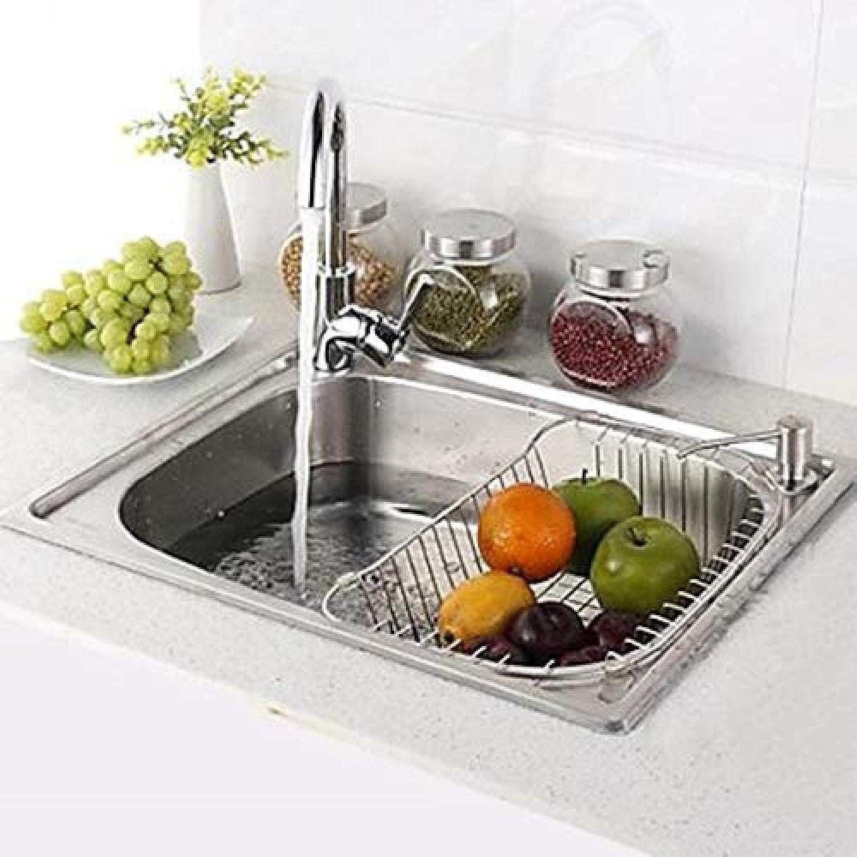 Küchenarmatur Spüle Küchenarmatur Moderne Küche Wasserablauf - Rechteckiger Edelstahl