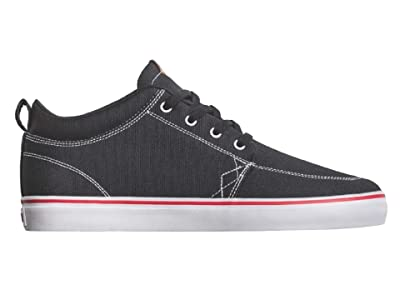 Globe GS Chukka (Black/White/Canvas) Men