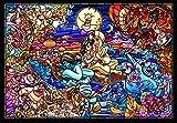 Tenyo Dsg-500-474 Aladdin Story Stained Art Clear Jigsaw Puzzle (500Piece) Jigsaw Puzzle