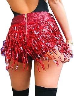 Womens Sexy Slim Solid Tassel Costumes Clubwear Mini Shorts