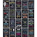 20 Pack Motivational Posters 13x19 Growth Mindset Signs Teacher Classroom Supplies