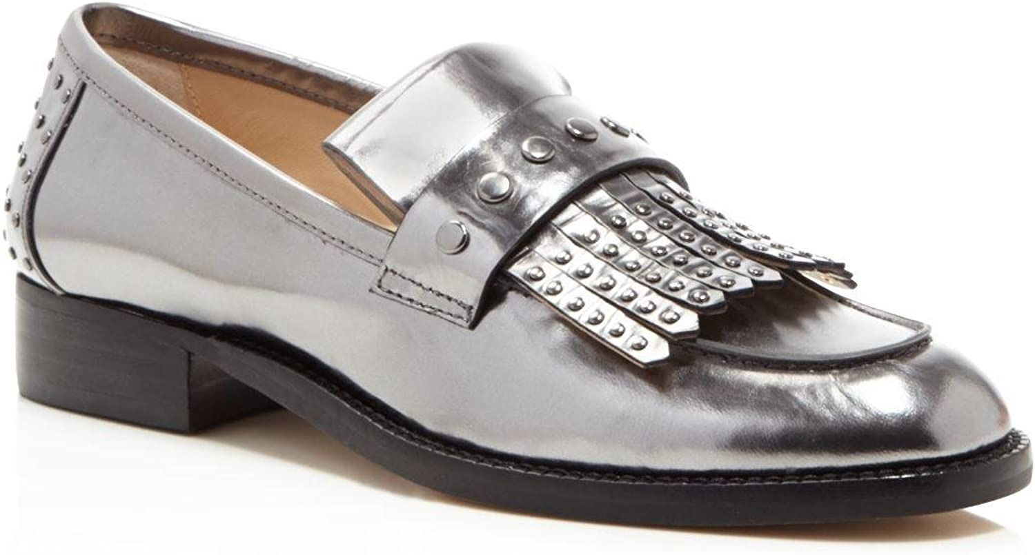 Botkier Womens Victoria Leather Almond Toe Loafers