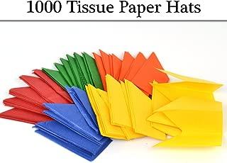 100 Tissue Paper Cracker Hats | DIY Christmas Cracker Crafts