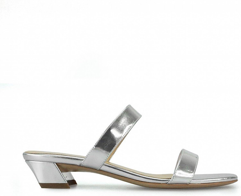 DHG Modewort Modewort mit Kurzen und Out Wear Frauenschuhen,Silber,40  Luxusmarke