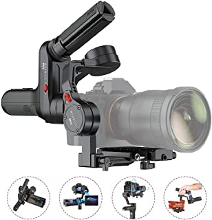 Zhiyun WEEBILL LAB Handheld Gimbal Stabilizer Max Payload 3KG with Versatile Structure Wireless Image Transmission and ViaTouch Compatible for Sony Canon Panasonic Mirrorless Camera (Black)