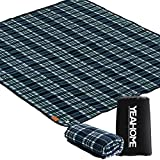 YEAHOME Picnic Blankets Beach Mat, Extra Large Sand Proof Portable Camping Blanket 60x70in, Triple Layers Waterproof Outdoor Blanket for The Beach, Park, Camping on Grass Picnic Blanket