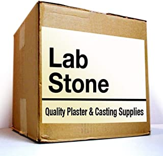 25 pounds - Blue Dental Lab Stone, Type III Gypsum, Model Stone for Dental Laboratory and Dental Office from Manufacturer! Made in The USA.