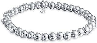 Best sterling silver beaded stretch bracelet Reviews