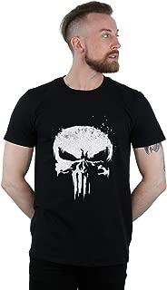 Marvel Hombre The Punisher TV Skull Logo Camiseta