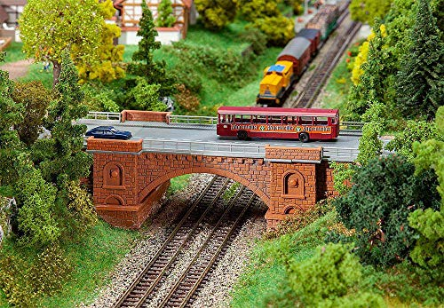 Faller FA222572 Eisenbahn-/Straßenbrücke Modellbausatz, verschieden