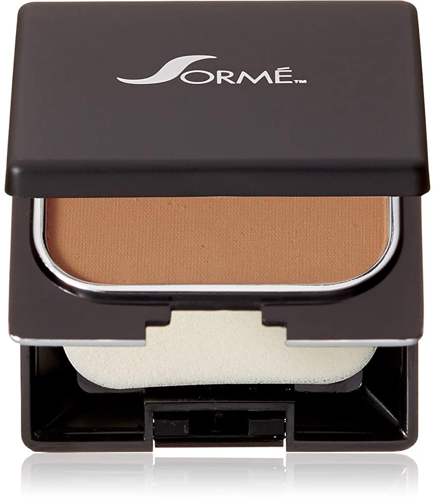 寮クレデンシャル残高Sorme Cosmetics Believable Finish Powder Foundation, Golden Tan, 0.23 Ounce by Sorme Cosmetics