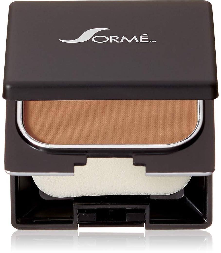 前提促進する不注意Sorme Cosmetics Believable Finish Powder Foundation, Golden Tan, 0.23 Ounce by Sorme Cosmetics