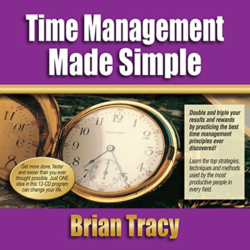 Time Management Made Simple audiobook cover art