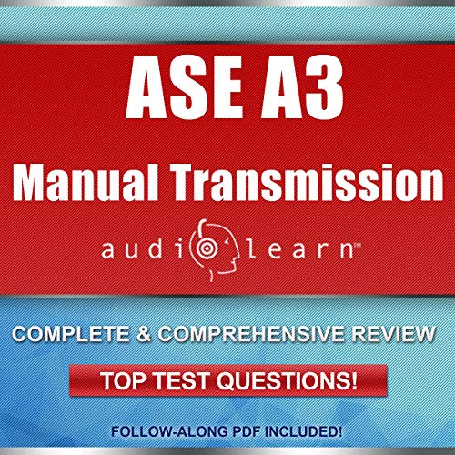 ASE A3 Manual Transmission: AudioLearn audiobook cover art