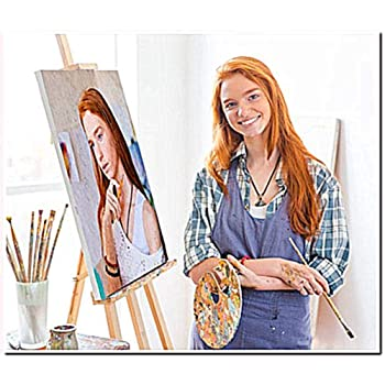 paint by number kits for kids -Colorful Gift Diy oil painting WOODEN FRAME 61 20X30cm digital oil painting
