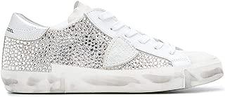 Philippe Model Luxury Fashion Womens PRLDDM02 Silver Sneakers |
