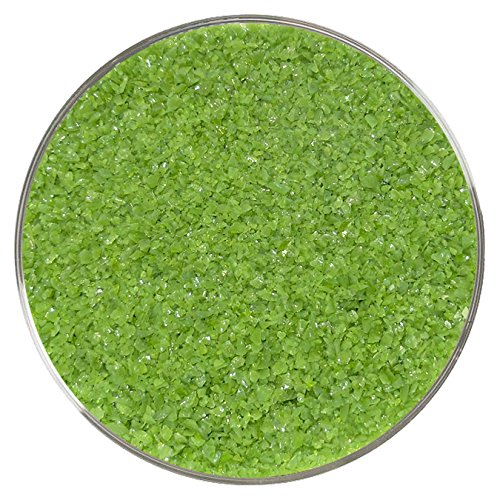 Fern Green Opalescent Medium Frit - 8oz - 96COE - Made from System 96 Glass