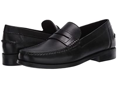 Geox Damon (Black Smooth Leather) Men
