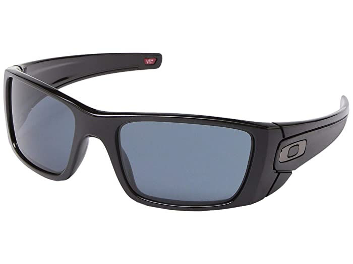 Oakley Fuel Cell (Fuel Cell Polished Black w/ PRIZM Grey) Polarized Sport Sunglasses