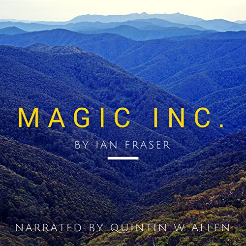 Magic Inc. audiobook cover art