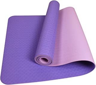 comprar comparacion LYCAON Colchoneta de Ejercicios, Colchoneta de Yoga para Ejercicios, Material de TPE Antideslizante Extra Grueso de 6 mm S...