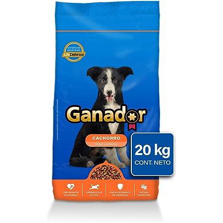 Ganador Cachorro, Razas Medianas y Grandes, 20 kg, Azul. El empaque puede variar