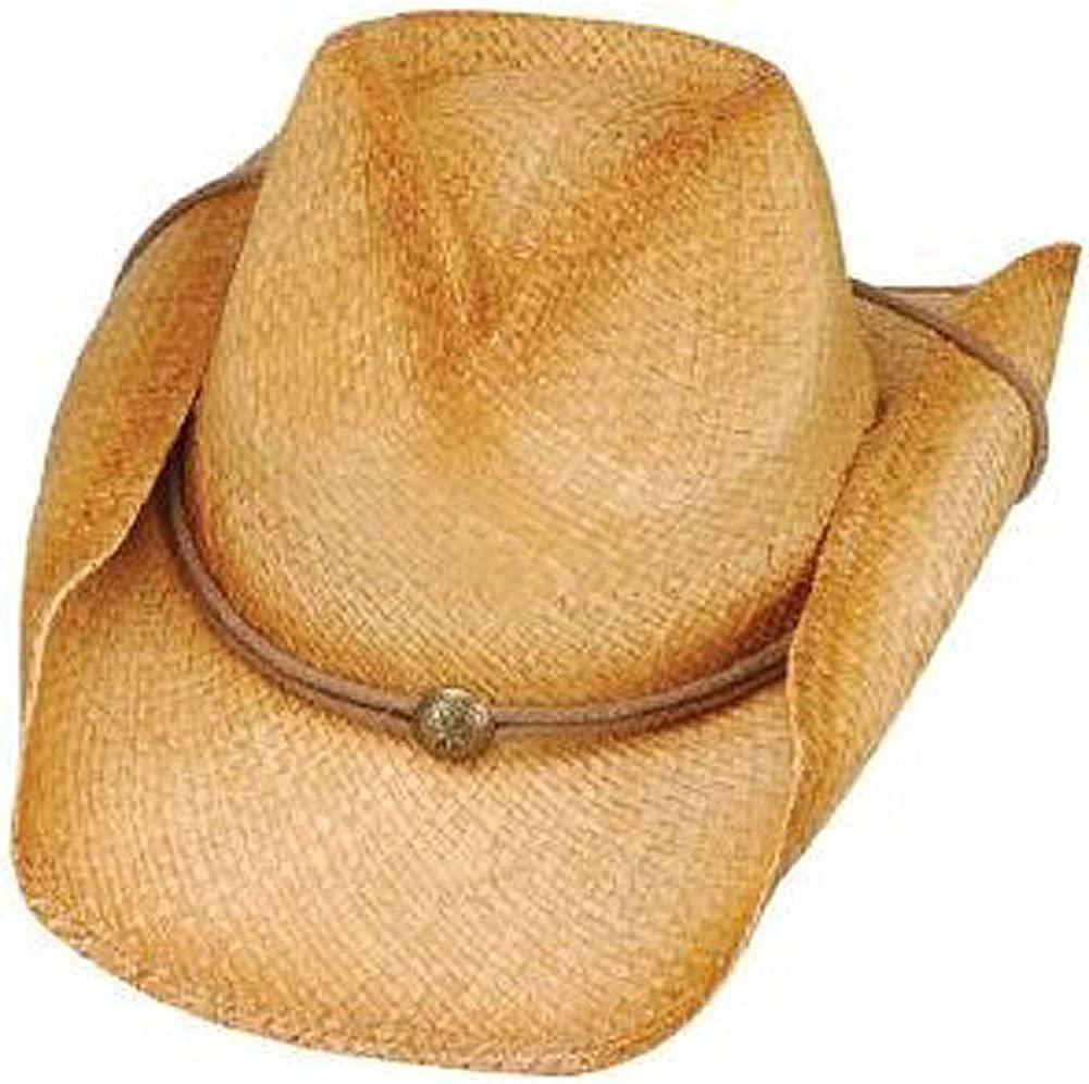 Oklahoma City Mall Peter Grimm - Drifters Tea Stained Hat Style One Size Over item handling ROUNDUP