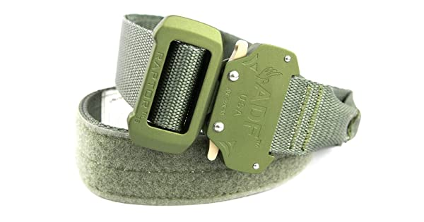 Fusion 1.75-Inch Shooters Belt with Nylon Loop and Raptor-Alum Buckle