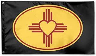 Zia Symbol Garden Flags 3 X 5 in Indoor&Outdoor Decorative Home Fall Flags Holiday Decor