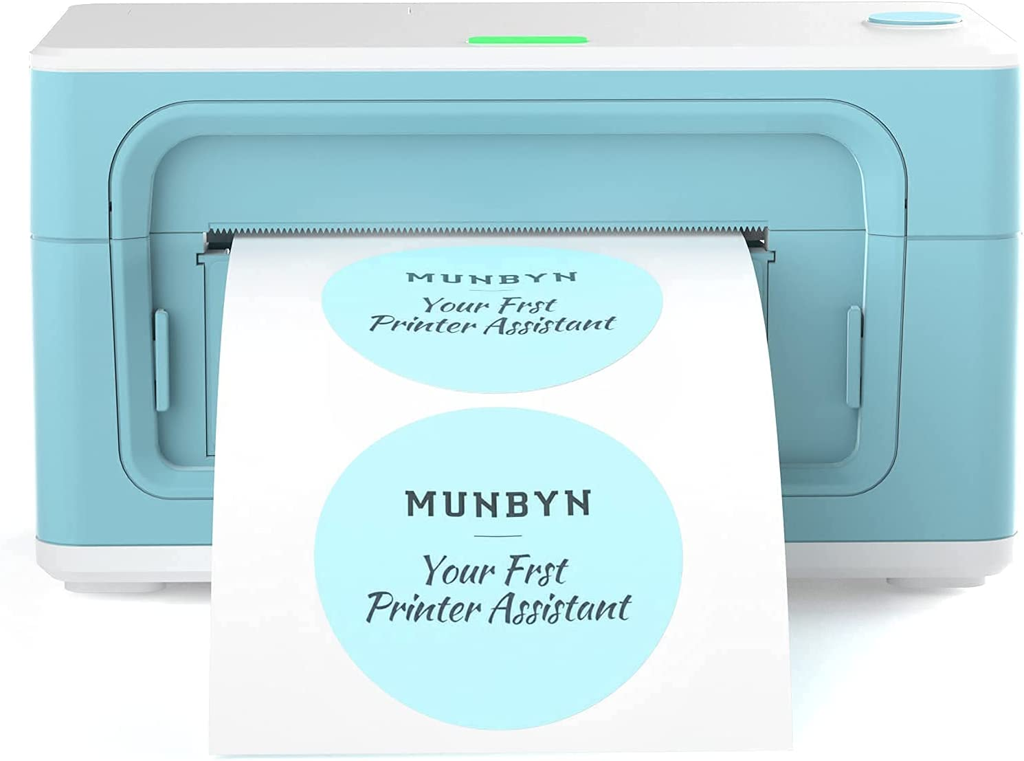 MUNBYN Thermal Label Printer, [Upgraded 2.0] 4×6 Direct Label Printer for Shipping Packages & Small Business, High-Speed 150mm/s, and Android Barcode Scanner Good Combination for Warehouse, Inventory
