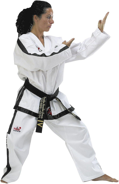 FujiMae Taekwondo-Anzug mit schwarzem Bund B0058DXKMY  Modebewegung
