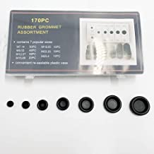 170PCS Rubber Grommet Firewall Hole Plug Set Electrical Wire Gasket Wonderful