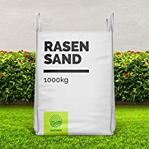 versandkostenfrei f/ür Sandkasten im praktischen BigBag 1000-5000 kg Quarzsand in sehr feiner K/örnung Spielsand
