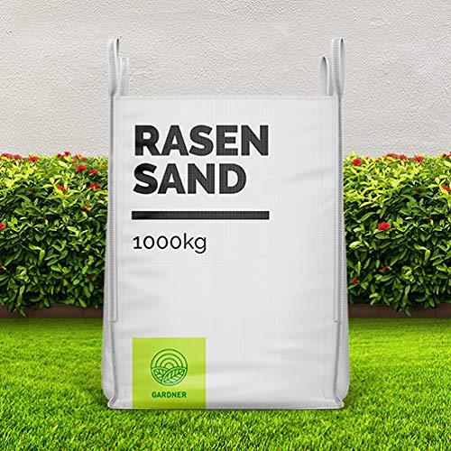 Quarzsand - Rasensand für Bodenverbesserung im praktischen Bigbag 1000-5000kg inkl. Versand (1000)