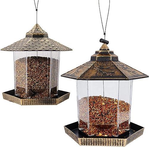 Twinkle Star Wild Bird Feeder | Wild Bird Feeder, Golden Bronze