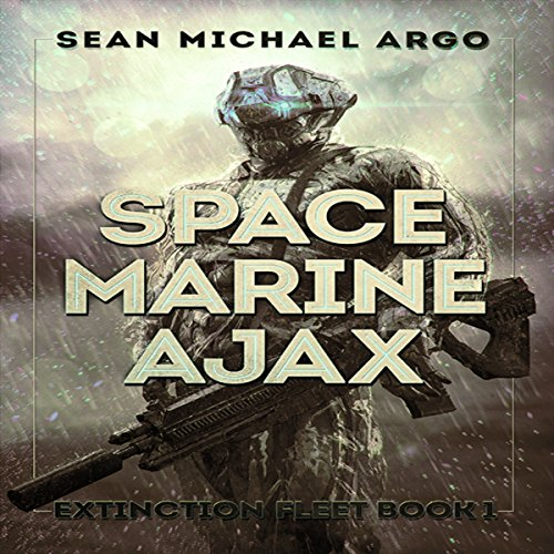 Space Marine Ajax audiobook cover art
