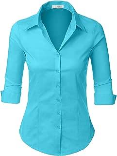 Best aqua blue blouse Reviews