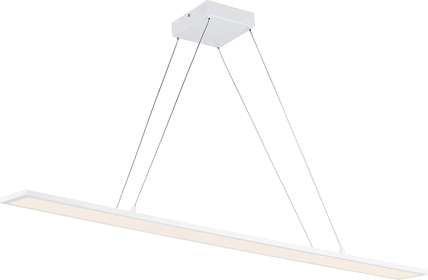 Maxim 57846WTWT Wafer JA8 Compliant Linear Acrylic Super Beauty products popular specialty store Pendant LED C