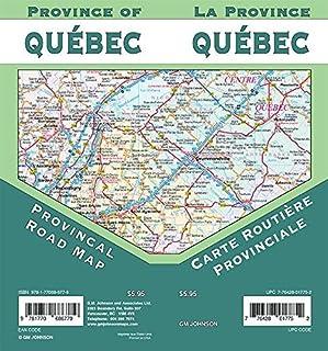 Quebec Provincial Map