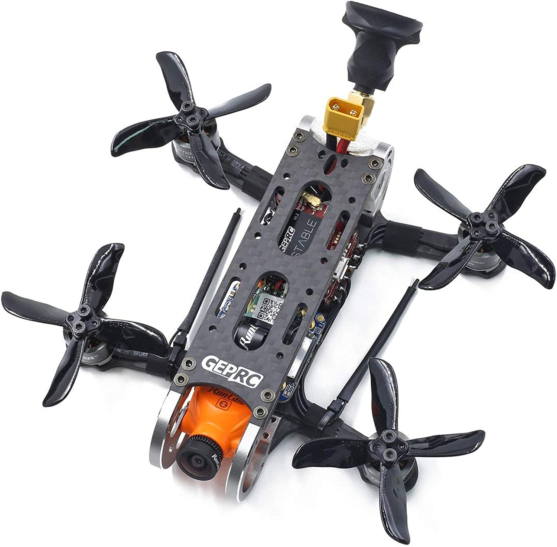 preferente HONZIRY Geprc Geprc Geprc GEP-CX2 Cygnet Mini avión de 2 Pulgadas Dividido 1080P HD RunCam GEP-GR1106 6000 kv Motor RC FPV Racing Drone BNF, Negro  en linea