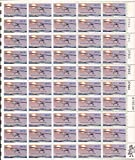 USPS 50 Years Solo Transatlantic Flight Sheet of 50 x 13 Cent Stamps Scott 1710