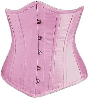 Alivila.Y Fashion Womens Sexy Satin Vintage Underbust Waist Training Corset