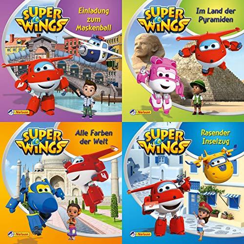 4er-Set Maxi-Mini 13: Super Wings (Nelson Maxi-Mini)