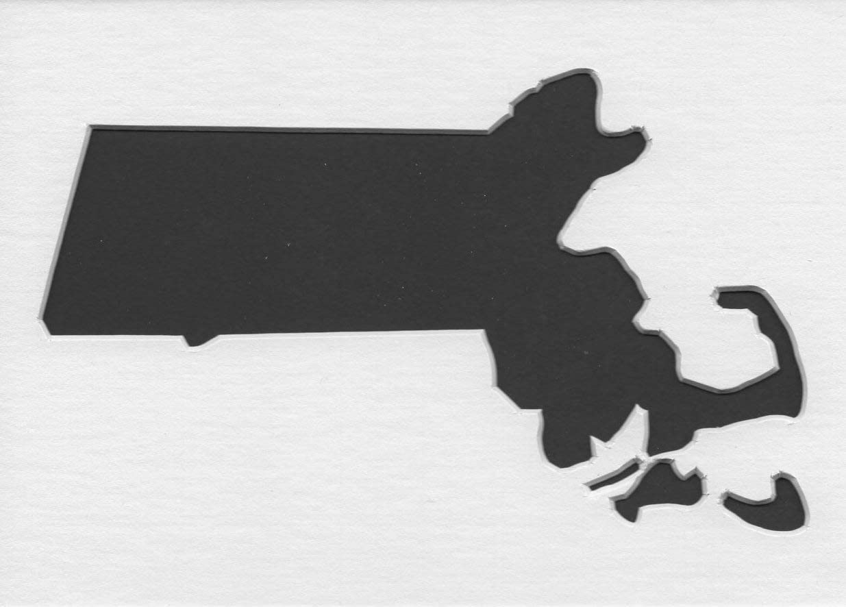 /& Paint Stencil Draw Massachusetts Stencil Reusable Color