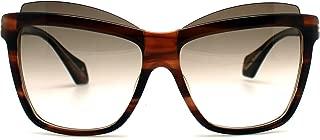 Vivienne Westwood - VW877, Cat Eye, plastic, women, STRIPED BROWN/BROWN SHADED(02 BD), 60/15/140